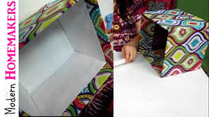 How To Decorate A Box With Fabric How To Cover A Box With Fabric YouTube 2