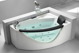 corner whirlpool bath new eago am198 l 5 left drain rounded clear modern for 6