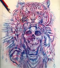 эскизы черепов значение татуировки с черепом и скелетом