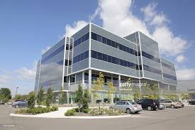 exterior office. Modern Office Building Exterior : Stock Photo