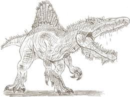 Small Picture Spinosaurus Coloring Pages fablesfromthefriendscom