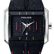 police matrix men s black leather strap sports watch pl10812js 02 police matrix men s black leather strap pl10812js 02