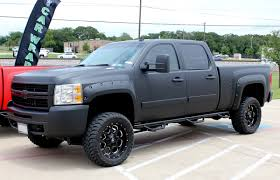 Deep Matte Black Truck Wrap - Zilla Wraps