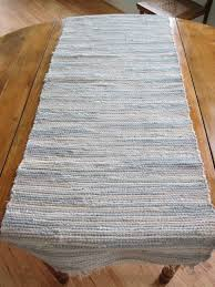 shades of gray woven rag table runnernarrow rug 316 by very narrow table runner