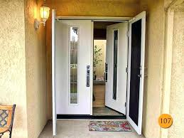 pretty white front door. White Front Door Modern Exterior Doors  With Sidelights . Pretty