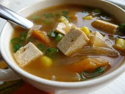 anese vegetable miso soup