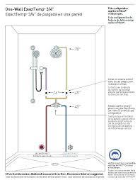 moen shower valve install moen shower valve installation tub and shower faucet installation 3 in 1
