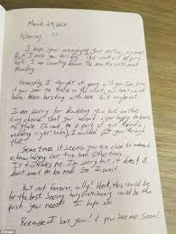 Woman Shares Creepy Love Letters Written By Her Stalking Co