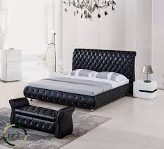 china french type tufted back king size leather bed china modern bed double bed