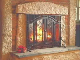 beautiful fireplace door insulation and fireplace screen door medium size of fireplace screens with glass doors