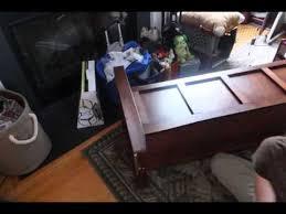 linon home decor cynthia storage bench review youtube