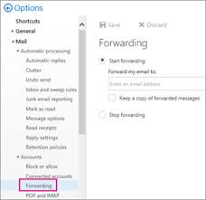 Appendix Email Forwarding From Microsoft Office 365