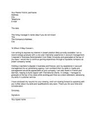 How To Right A Letter What to Write In Cover Letter Good Example For Writing Your One 1