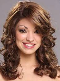 Wavy Side Bang Hair Styles Side Fringe Hairstyles For Long Hair