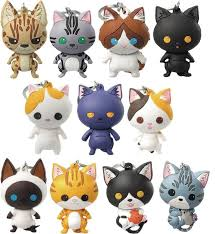 Purrfect Pets Cats Series 2 Figural Keychain Blind Bag