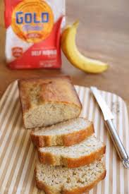 the very best banana bread with self