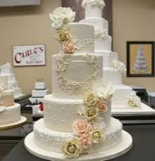 cake boss wedding cakes with flowers. Fine Cake Sugaar Flowers Monogramming Piping This Cake Has It All Cake Boss  WeddingIvory  On Wedding Cakes With Flowers O