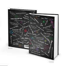 Xxl Hardcover Din A4 Notizbuch Schwarz Weiß Liebe Und Frieden