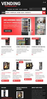 Vending Machine Website Impressive Vending Machines Website Templates WordPress Template 48