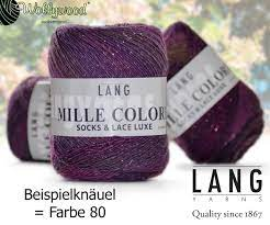 Mille Colori Socks & Lace Luxe von LANG YARNS   Schurwolle   Material    Garne
