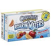 capri sun roarin waters fruit punch flavored water beverage 10 pk