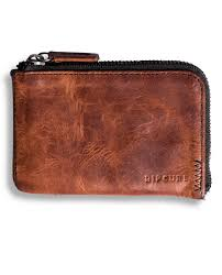 handcrafted zip slim leather wallet men s wallets leather wallets surf wallets rip curl australia