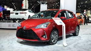 Refreshed 2018 Toyota Yaris Brings Bigger Face For $16,520