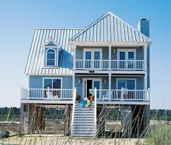 Small Beach Cottage Plans And Coastal House Plans Throughout Beach