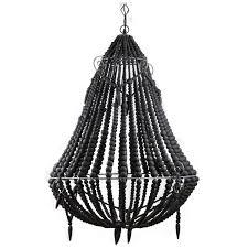 beaded chandelier black loading zoom black beaded chandelier o77