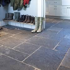 stone floor tiles. Rustic Black Slate Tiles Stone Floor M