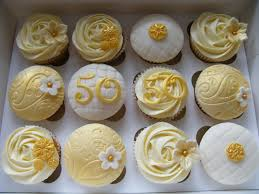 50th Anniversary Cupcake Decorations 17 Best Ideas About 50th Anniversary Cakes On Pinterest 50th
