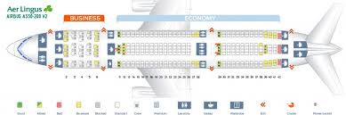 Boeing 757 Seating Chart Aer Lingus Aer Lingus Fleet Airbus A330 200 Details And Pictures