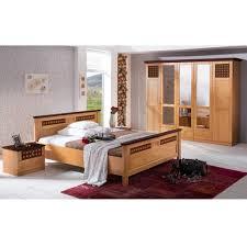 Schlafzimmer Romantica Pinie Nussbaum