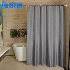 2019 high quality bathroom shower curtain with thick waterproof and mildew proof the curtain of pure color shower from baibuju8 37 55 dhgate com