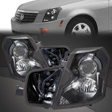 Cadillac Cts Lights Details About Fits 03 07 Cadillac Cts Halogen Headlights Headlamps Pair Set Left Right
