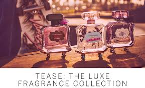 tease the luxe fragrance collection