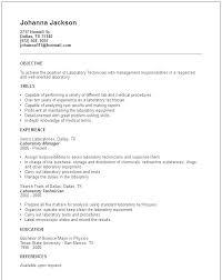 Dental Lab Technician Resumes Medical Lab Tech Resume Medical Lab Tech Resume Lab Technician