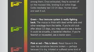 What It Means When Your Snot Is Green