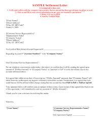 picture 5 of 17 debt settlement agreement letter sample intended for settlement letter sample