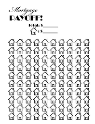 Mortgage Payoff Chart Printable Mortgage Payoff Tracker Great Way To Keep Yourself