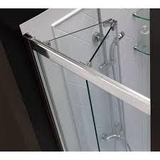 pivot frameless bi fold shower door
