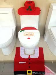 toilet tank lid cover toilet tank lid cover mats toilet seat cover rug bathroom set holiday