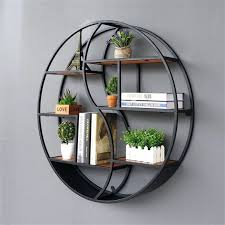 lil round wall mounted shelves wall