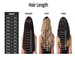 Hair Length Chart Women Hair Lengths Hair Length Chart Grey Hair Wig Hair Lengths