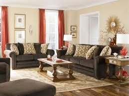 Orange And Brown Living Room Accessories Living Room Brown Couches Decorating Ideas Nomadiceuphoriacom