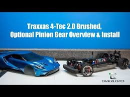 Traxxas 4 Tec 2 0 Gearing Chart Traxxas 4 Tec 2 0 Brushed Optional Pinion Gear Overview