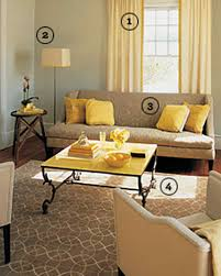 Yellow Colors For Living Room Yellow Rooms Martha Stewart