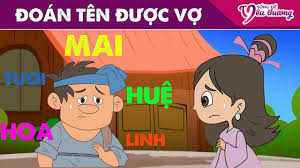 Truyện Cổ Tích Việt Nam - ĐOÁN TÊN ĐƯỢC VỢ ▻ Phim Hoạt Hình