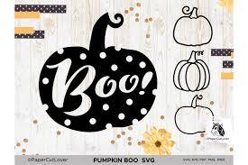 Find & download free graphic resources for dotted line. Pumpkin Svg Bundle Halloween Polka Dot Pumpkin Boo Svg 877816 Cut Files Design Bundles