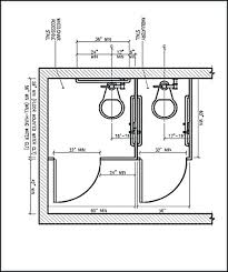 Accessible Bathroom Layout Set Cool Inspiration